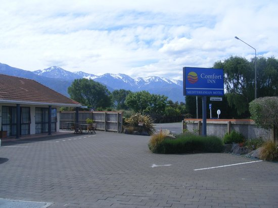 Mediterranean Motel Kaikoura: From our unit
