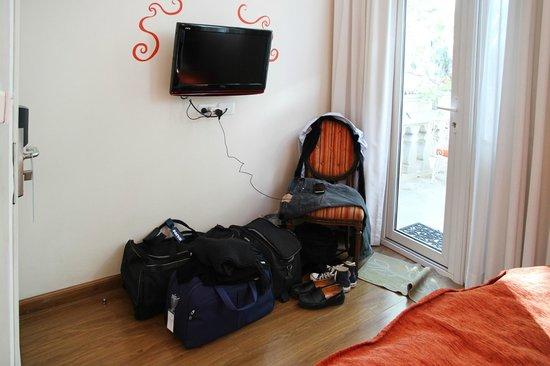 Rendez Vous Hotel Buenos Aires : la place des bagages