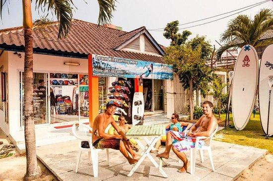 Hua Hin Kitesurfing : The shop