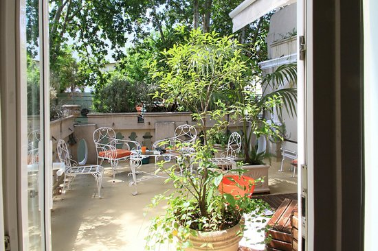 Rendez Vous Hotel Buenos Aires: terrasse