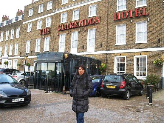 Grange Clarendon Hotel: Fachada del Hotel