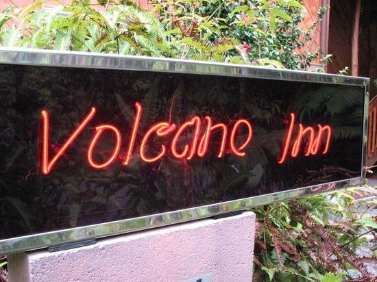 Volcano Inn: Welcome!