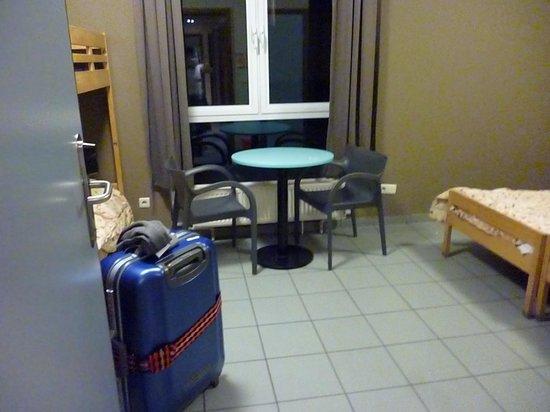 Gîte-Auberge de Jeunesse Jacques Brel : 部屋
