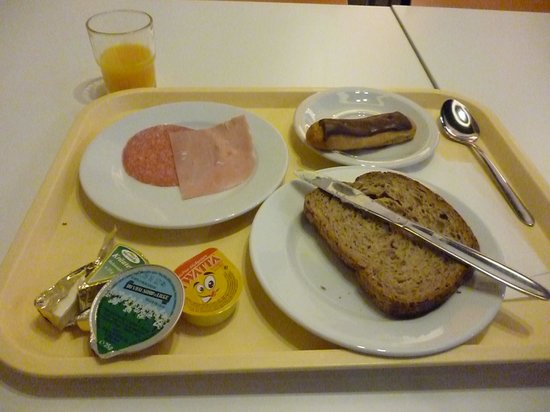 Jacques Brel Youth Hostel: 朝食