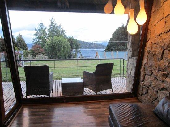 Rochester Hotel Bariloche: Our terrace