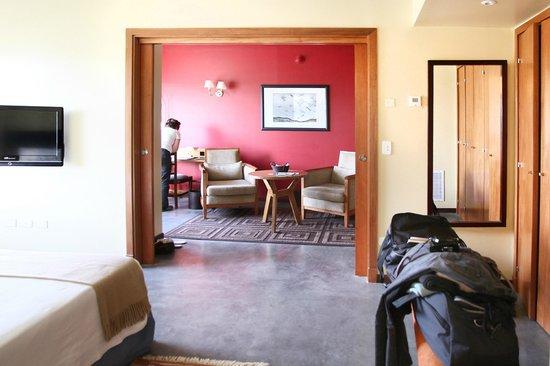 Territorio Hotel: salon vu de la chambre