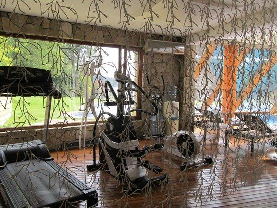 Rochester Hotel Bariloche : Gym area