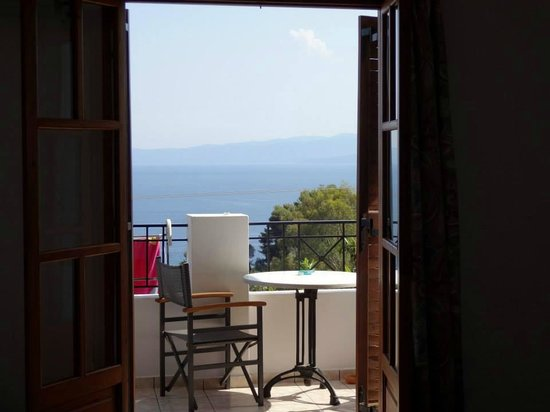 Areti Studios and Appartments: View from our room/balcony