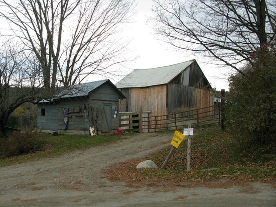 Sugarbush Farm: buildings on the property