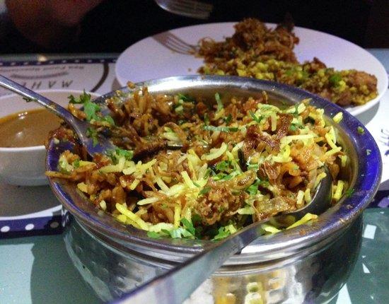 Mahesh Lunch Home : Biryani Rice