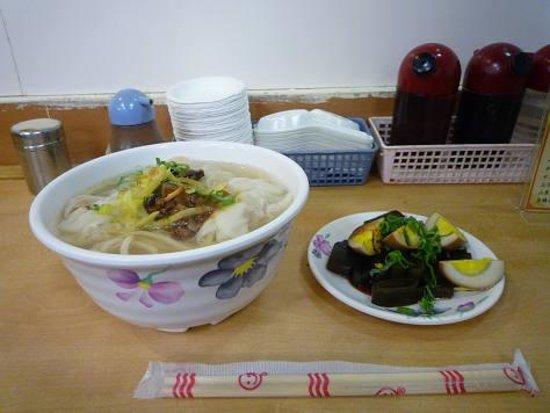 Fuda Shandong Zhengjiao Dawang: 水餃子の麺とおでん風