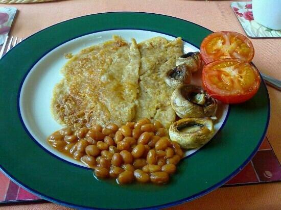 Fern Tor: vegan breakfast pancakes