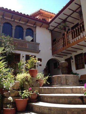 Hotel Rumi Punku: Patio interior