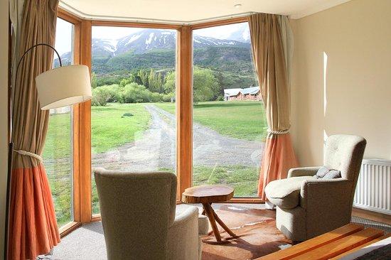 Las Torres Patagonia: vue depuis la chambre