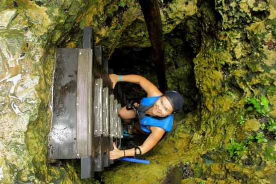 Sac Actun: Descente dans le cenote