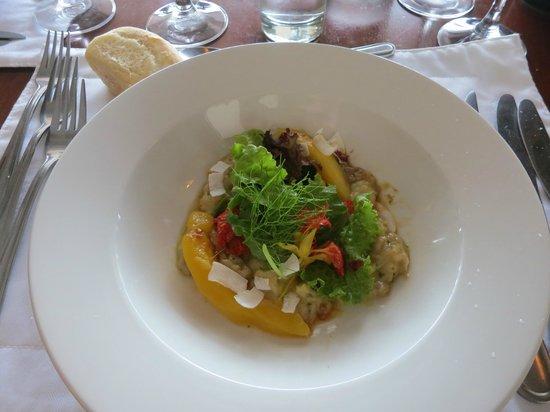 The Restaurant at Clos Malverne: wonderful salad