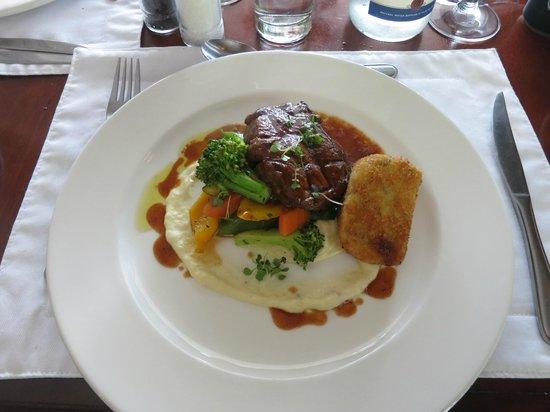 The Restaurant at Clos Malverne: wonderful meal