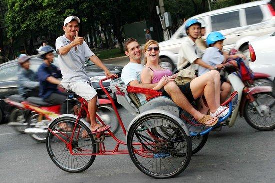 Hanoi Experience: no worry hanoi cyclo experience