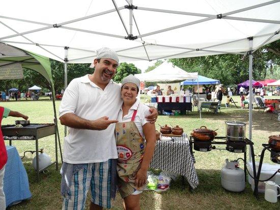 Las Cazuelas del Don: Elizabeth & Alberto Owners