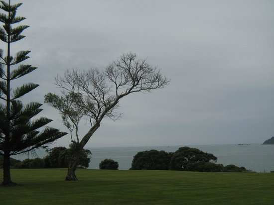 Waitangi Treaty Grounds : View over the Bay of Islands