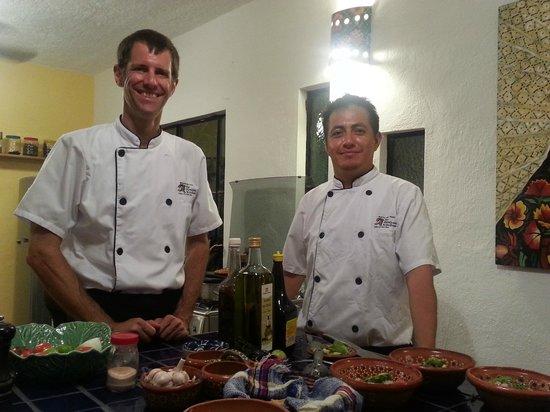 My Mexican Kitchen: Travis and Edgar
