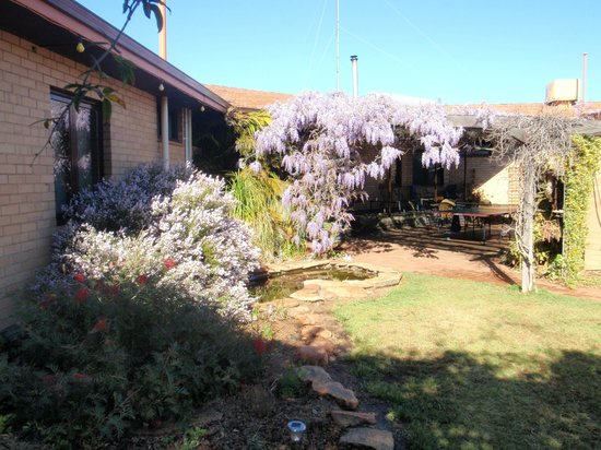 Wongan Hills, أستراليا: Rear Entrance