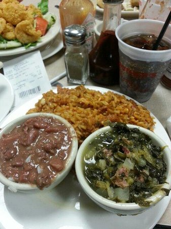 Mother's Restaurant: Jambalaya and red beans