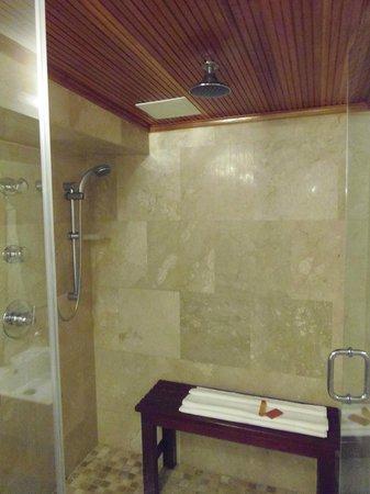 Cervantes: Shower/steam room