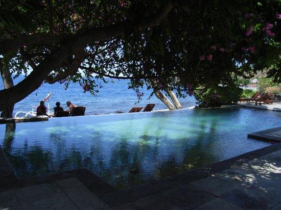 Baruna Dive Center Tulamben: ベースのミンピ・リゾートです