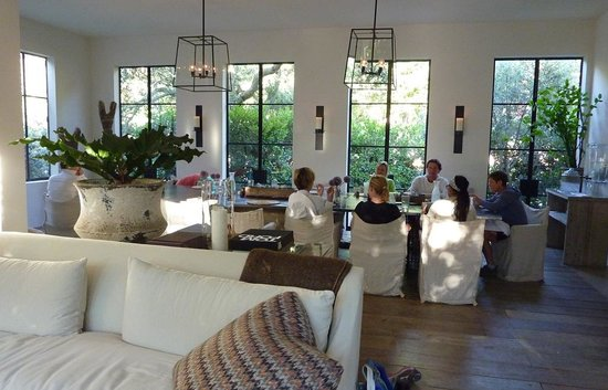 "Ranch at Live Oak Malibu: Dining Room and ""Lounge"""