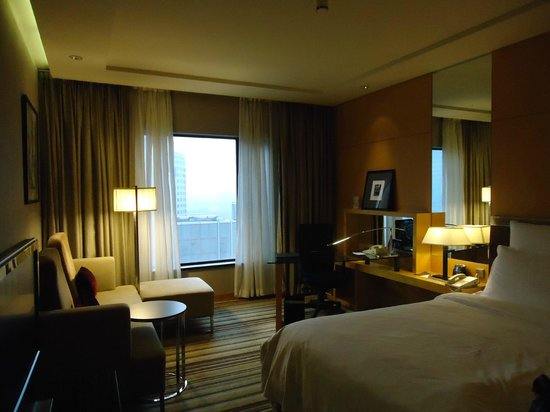Hilton Beijing: The room