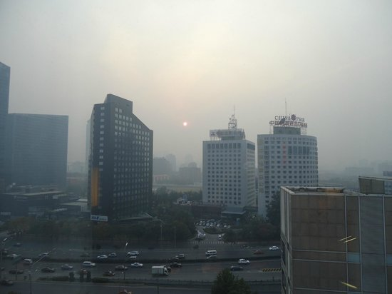 Hilton Beijing: A view of smog