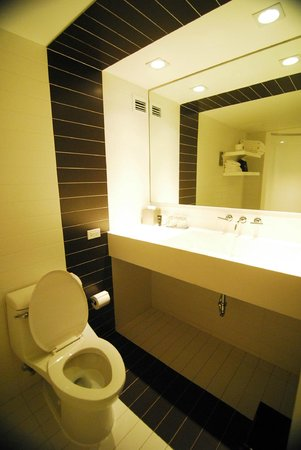 Kimpton Donovan Hotel: Spacious washroom