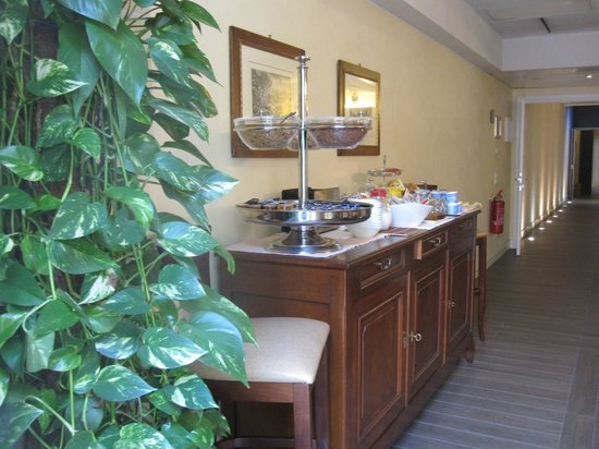 Hotel Patavium : Breakfast area