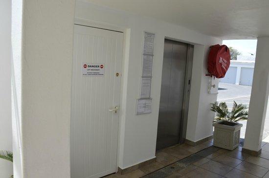 45 Marine Drive: Lift for Upper Floors inside complex