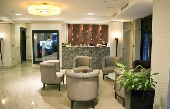 Reception of Best Western Thracia Hotel