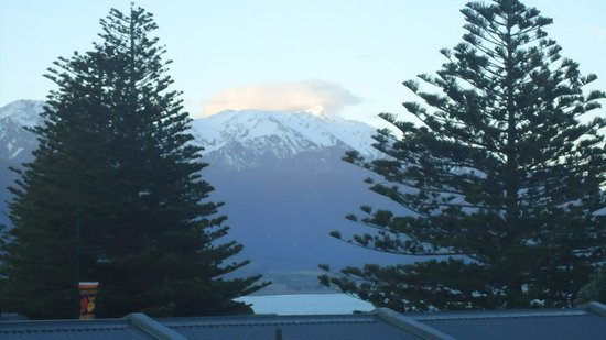 Kaikoura Apartments : View from Balcony