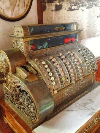 Grand Hotel Gervasoni: Касса в ресторане