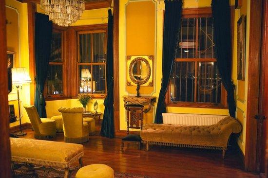 Grand Hotel Gervasoni: Холл