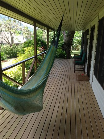 Lalati Resort & Spa: The front porch of a cottage
