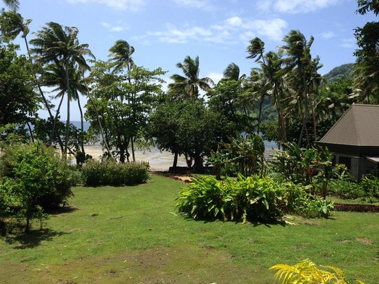 Lalati Resort & Spa: The view from the cottages