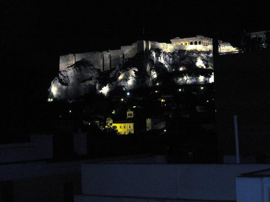 Omiros Hotel : Вид с балкона