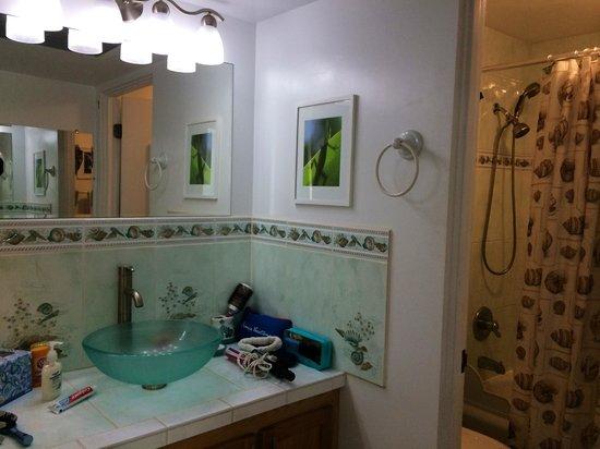 Hale Kona Kai Condominiums: Bathroom of condo #302