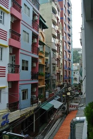 Beautiful Saigon Hotel 2: view from hotel down nice quiet alley