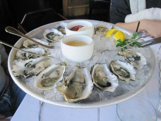 Bistro Boudin : Chilled Oysters - (12).