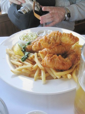 Bistro Boudin : Fish & Chips.