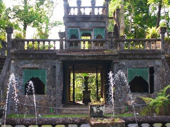 Paronella Park: 噴水前