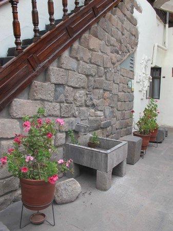 Unaytambo Hotel : Courtyard
