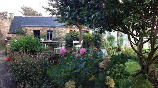 Ouessant, França: Le jardin