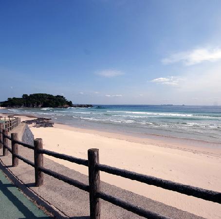 Chigaso : 大浜への遊歩道